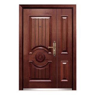 FPL-Z7008B Bullet Proof Double Leaf Armored Entrance Door