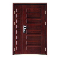 FPL-Z70258 Double Leaf Armored Entrance Door