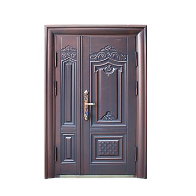 Retro Double Leaf Double Swing Door