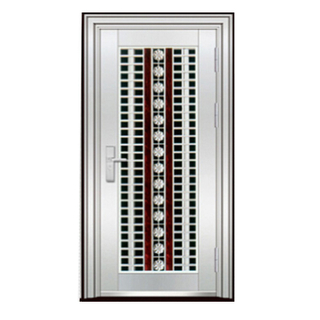 FPL-S5005 China Manufacture Supply Fire Proof Stainless Steel Security Door