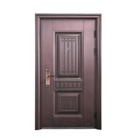 Home Decoration Main Door Security Steel Door