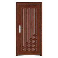 FPL-1014 Turkey Armored Courtyard Door Steel Security Door