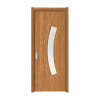 FPL-4026 Modern Style Interior Door Pvc Glass Door