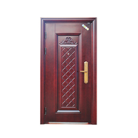 High Qaulity Honeycomb Core Main Door Security Steel Door