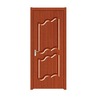 FPL-4010 New Product Interior MDF Wood Turkish PVC Door Design
