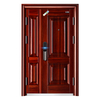 Double Leaf Entrance Steel Security Door