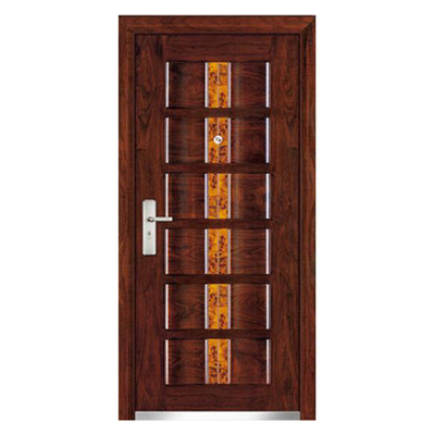 FPL-1019 High Quality Exterior Strong Steel Security Armored Door