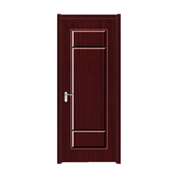 FPL-4006 Modern House Decorative Plan Bathroom PVC Wooden Door