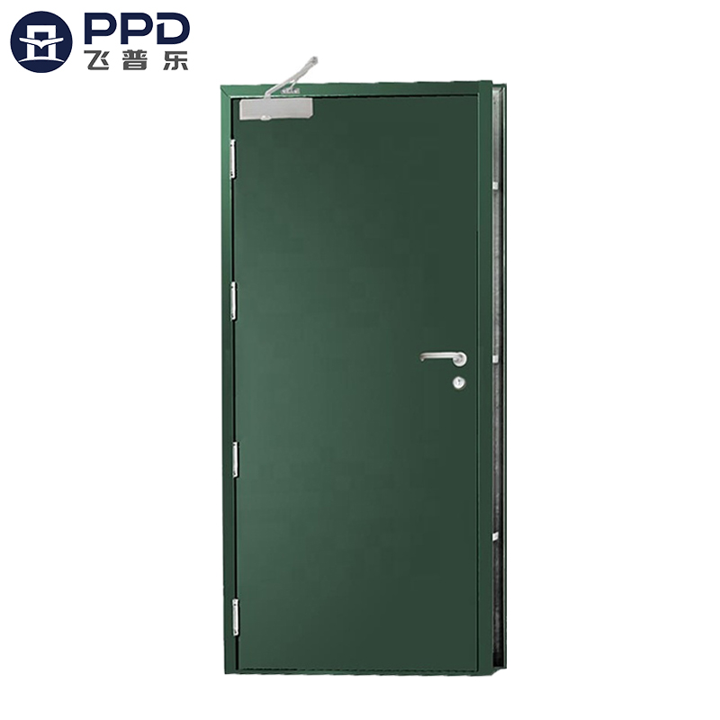 FPL-H5012 Emergency Escape Resistance Steel Fire Rated Interior Doors