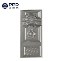 PHIPULO Exquisite Workmanship Safety Design House Home Gate Steel Door Skin
