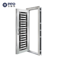 FPL-S5009 Wholesale Modern Contemporary Single Stainless Steel Door