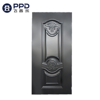PHIPULO Custom Residential Stamped Metal Safety Steel Door Skin